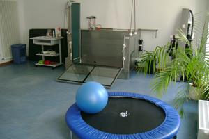 Raum der Physiotherapie